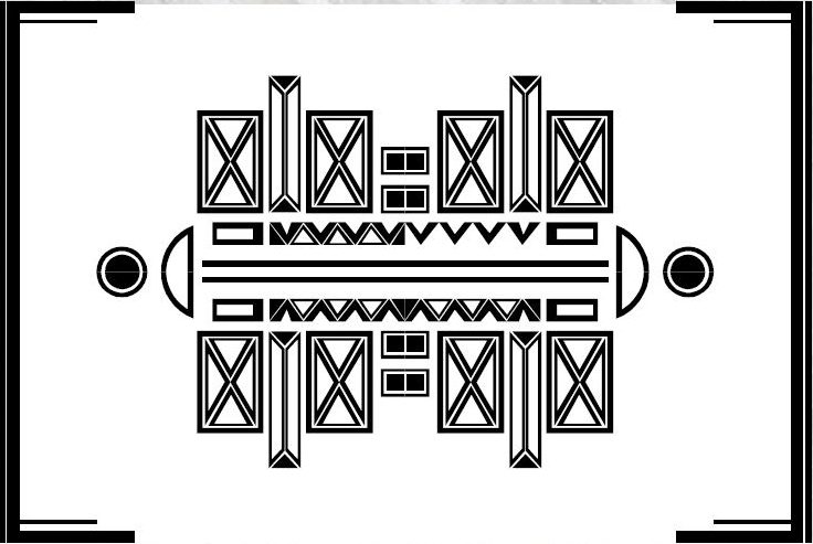 """50695be791f 5. Aita Teigar """"KuuSik"""" – selgelt ajaloolisest arhitektuurist inspireeritud  esindusliku maiguga mitmekülgne kollektsioon."""